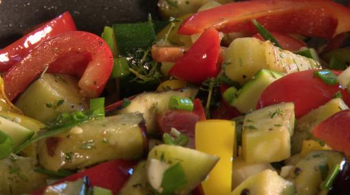 Gemüse-Papillote aus dem Ofen