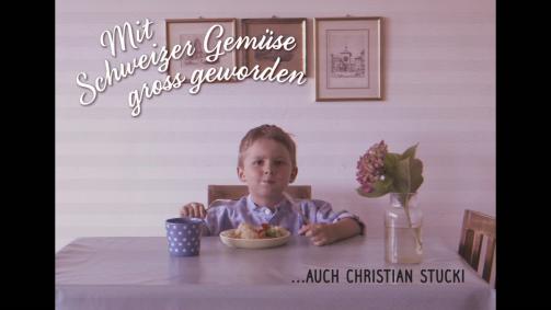 Mit Schweizer Gemüse gross geworden … Christian Stucki
