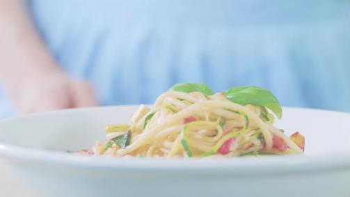 Zoodles: Spaghettis aux courgettes